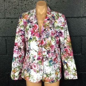 Liz Claiborne Beautiful Colorful Blazer